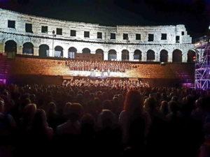 La nostra ultima IX di Beethoven all'Arena di Pola